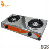 Jp-Gc206 2 Burner Gas Stove Gas Cooker for Kitchen Equipment