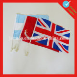 National Double Side Printing Hand Flag
