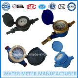 Multi-Jet Dry Type Water Meter in Plastic/Iron/Brass Body