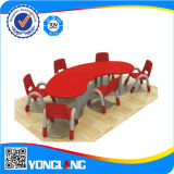 Preschool Furniture Moon Palstic Table Indoor Playground (YL6204)