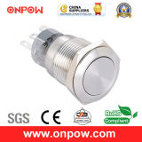 Onpow 19mm Metal Push Button Switch (LAS1-AGQ-11/S, CE, UL, CCC, RoHS)