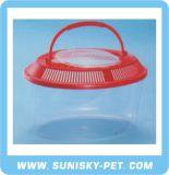 Oval Shape Transparent Plastic Pet Carrier (SFT-265A)
