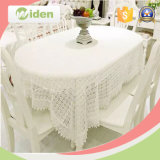 White Milky Poly Chemical Lace Fabric for Tablecloth