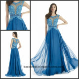 Chiffon Party Prom Formal Gowns Beading Evening Dresses M15313