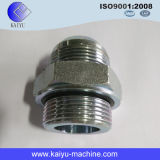 Hydraulic Nipple with Metric Male Thread / Flared Tube Fitting