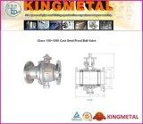 Class 150~1500 Cast Steel Fixed Ball Valve