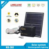 Solar Lighting System with 2 LED Bulb