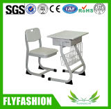 Adjustable Compact Classroom Furniture Single Desk Set (SF-18S)
