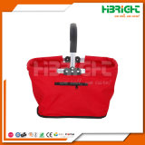 Double Handles Folding Picnic Basket Lunch Tote