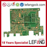 Multilayer 1.0mm 6L OSP V0 Medical Devices PCB Circuit Board