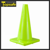 """18"""" PVC Traffic Cone with Reflective Tape"""