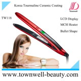 Bullet Shape Hair Straightener with Mch Heater