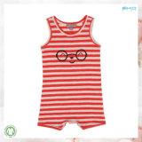 Yarn Dye Summer Baby Garment Sleeveless Baby Romper
