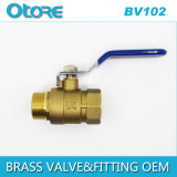 Brass Ball Valve Lever Handle M X F