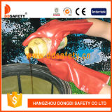 Ddsafety 2017 Red PVC Glove Long Cuff