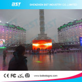 Die-Cast Aluminum Rental LED Screen Electronic P8 Light Weight Outdoor LED