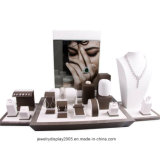 Elegant Jewelry Display PU Leather/Suede/Maganetic Jewellery Display Set