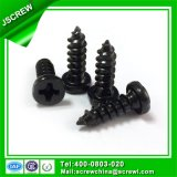 Screw Factory Black Color 4mm Self Tapping Screw for Light