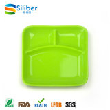 Kids Plates Dinnerware Type with LFGB, FDA Certification 3 Divided Type Silicon Baby Meal Mat
