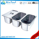 Hot Sale Stainless Steel Electrolytic Restaurant Kitchen 1/1 Size Gn Container