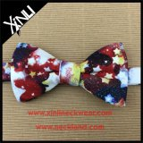 Men Printed Cotton Party Supply Bow Tie