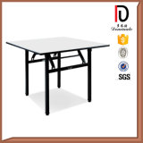 High Quality Round Plywood Hotel Folding Table (BR-T059)