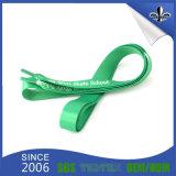 Flat Green Sublimation Printed Bulk Shoelaces