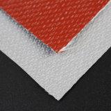 Heat Resistant 17 Oz Silicone Rubber Coated Fiberglass Fabric