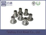 5X9mm Flat Head Semi Tubular Aluminum Rivet