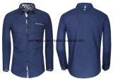 New Hot Men Long-Sleeved Clothes Leisure Linen Cotton Shirt