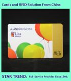 Wholesale Gift Card Made of Plastic with Magnetic Stripe (ISO7811)