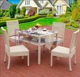 Outdoor Q Flowers Garden Tables and Chairs Five Sets