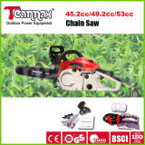 Professional Chain Saw 49.2cc Powerful with Ce, GS, Euro II Certificates