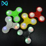 HS226 LED Finger Spinner Most Popular Shining Fidget Toys for Joy