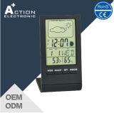 Weather Station Temperature&Humidity Clock with Moon Phase