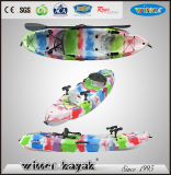No Inflatable and Polyethylene Hull Material Single Sot Recreation Kayak