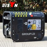 Bison (China) 2kVA 2kw 220 Volt Small Electric Generator Motor Alternator Electric Power 5.5HP Gasoline Generator Set