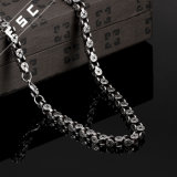 Fashion Punk Style Stainless Steel Long Necklace for Unisex