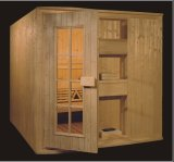 1800mm Rectangle Solid Wood Sauna for 4 Persons (AT-8618)