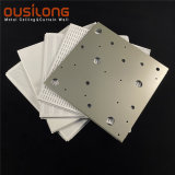 Acoustic Suspended Aluminium / Aluminum Ceiling Irregular Perforated Metal Panels Building Materials