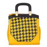 Women′s Fashion Yellow Totes Handbags (MBNO034129)