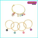 New Fashion Wholesale Brass Adjustable Wire Bangle Bracelet