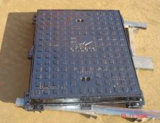 Rectangle Ductile Iron Manhole Cover with Frame with SGS& BV
