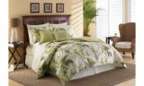 Green Island Green Comforter Queen Size Bedding Set