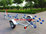 Single Boat Trailer with Curved Rollers Tr0229