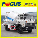 Dongfeng 4X2 6m3 Concrete Mixing Lorry with Cummins Engine