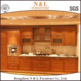 Classcial Style Home Furniture Solid Wood Kitchen Cabinet