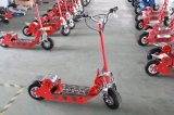 Electric Standing Kick Scooter with Brushless Motor Es-024 Red