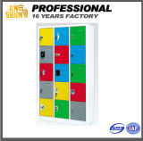 15 Door Cold Rolled Storage Colored Steel Locker