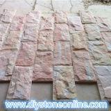 Mushroom Wall Cladding Stone Tile Pink